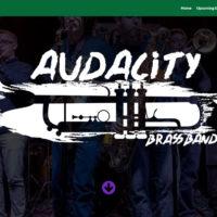 Audacity Brass Band Website