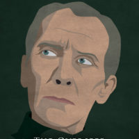 Grand Moff Tarkin - Star Wars A New Hope Minimalist Portraits