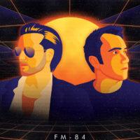 Synthwave Artist Portrait - FM-84