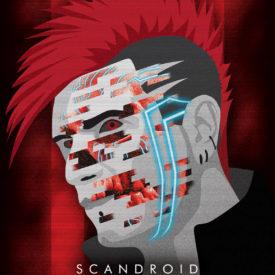 Synthwave Artist Portrait - Scandroid
