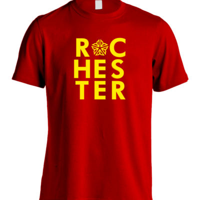 Rochester Typographic T-Shirt **OFFICIALLY LICENSED**