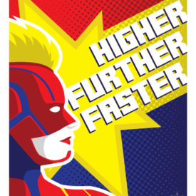 Higher, Further, Faster - Captain Marvel