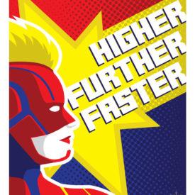 Higher, Further, Faster - Captain Marvel