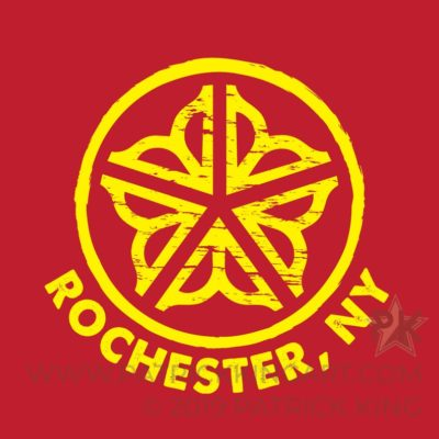 Rochester Circle Logo **OFFICIALLY LICENSED** Sticker