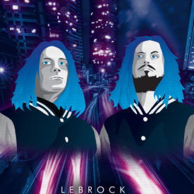 Synthwave Artist Portrait - LeBrock