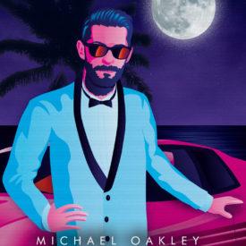 Synthwave Artist Portrait - Michael Oakley