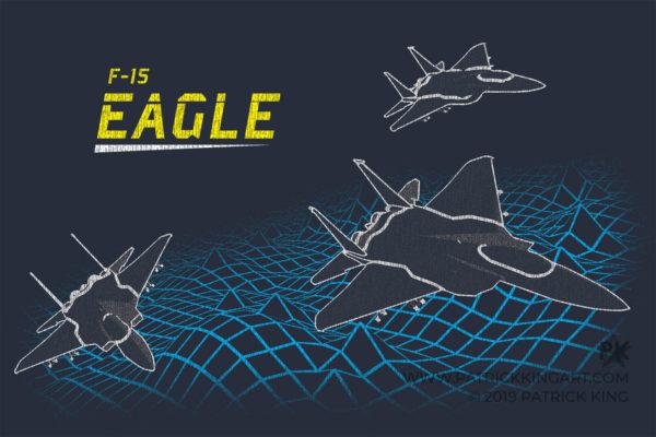 Retro F-15 Eagle