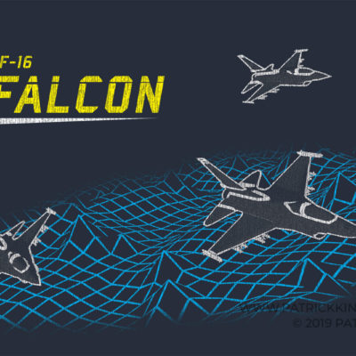 Retro F-16 Falcon