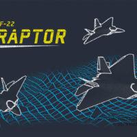 Retro F-22 Raptor