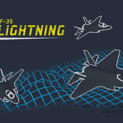 Retro F-35 Lightning