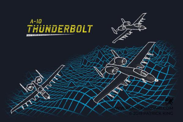 Retro A-10 Thunderbolt