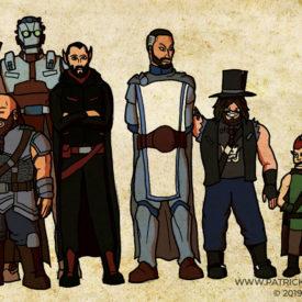 D&D Party Illustration
