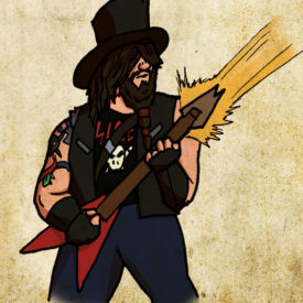 D&D Portrait - Slash Van Halen