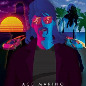 Synthwave Artist Portrait - Ace Marino