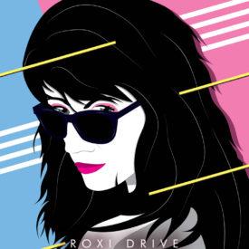 Synthwave Artist Portrait - Roxi Drive