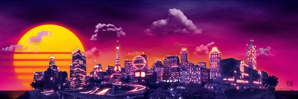 Retro Los Angeles / Las Vegas / Austin / Miami Commission