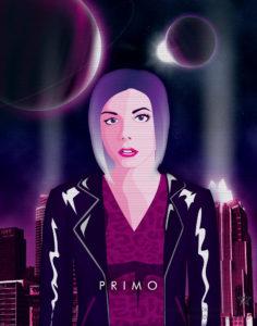 Synthwave Artist Portrait - Primo