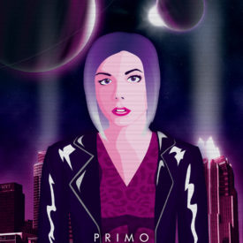 Synthwave Artist Portrait - Primo