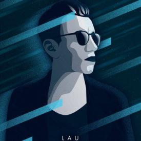 Synthwave Artist Portrait - LAU