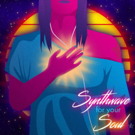 Synthwave Spotify Playlist Cover Art