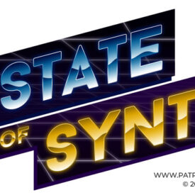 The State of Synth Logo - Chrome Variant