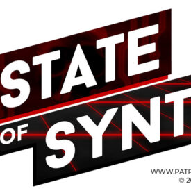 The State of Synth Logo - Darksynth Variant
