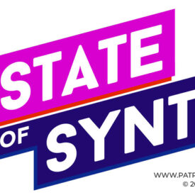The State of Synth Logo - Flat Variant