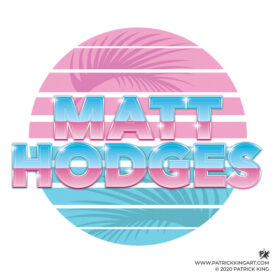 Matt Hodges Name Logo