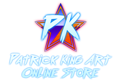 Stickers and Prints on Patrick King Art Online Store