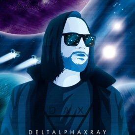 Synthwave Artist Portrait - Deltalphaxray