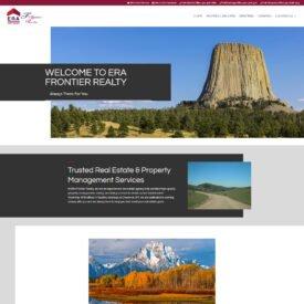 ERA Frontier Realty Website Design