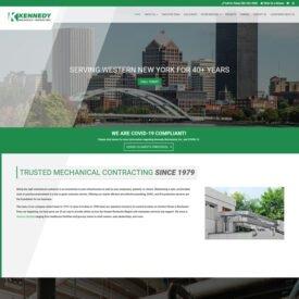 Kennedy Mechanical Website Design