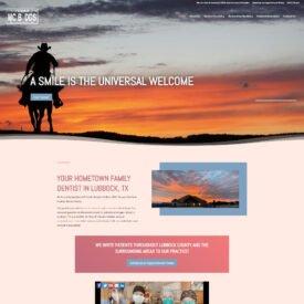 Tracy R. Henson-McBee, DDS Website Design