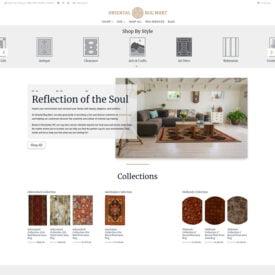 Oriental Rug Mart Website Design