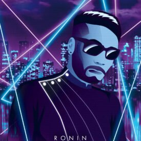 Synthwave Artist Portrait - Ronin