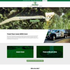 Tree 'N Turf Service Website Design