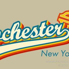 1970s Baseball Rochester Logo
