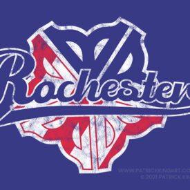 Rochester Americans-inspired Logo
