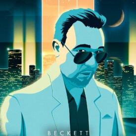 Synthwave Artist Portrait - Beckett