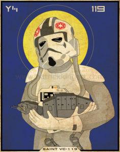 Star Wars Imperial Saints - AT-AT Pilot